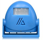 Умный звонок с датчиком движения DH-9915Blue синий/фиолетовый