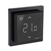 Терморегулятор DEVIreg Smart интеллектуальный с Wi-Fi, черный, 16А (140F1143)