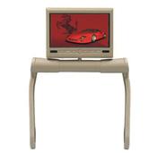 Автомобильный монитор, DL DVD-7836, бежевый