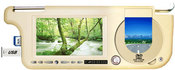 "Козырек-монитор DL DVD8589SV-USB TV, 8,5"" (DVD/MP4/MP3/VCD/FLASH SD/USB/FM) + TV тюнер, бежевый"