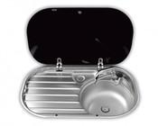 Раковина со стеклянной крышкой Dometic SMEV VA8306R (9102300029)