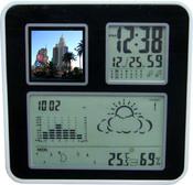 Цифровая метеостанция со встроенным фотоальбомом, DPF-9310