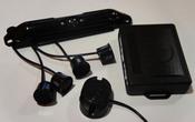 Комплект видеокамера заднего вида и парковочный радар. Модель: ENC EC-017