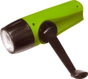 Светодиодный фонарь с механической подзарядкой. DT-501