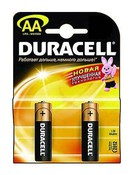 Батарея АА DURACELL LR6-2BL BASIC (40/120/16320)