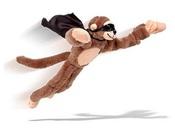31 Век E710 Летающая плюшевая обезьянка