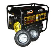 Электрогенератор HUTER DY6500LX с колёсами и аккумулятором (64/1/15.)