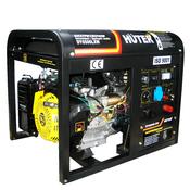 Электрогенератор HUTER DY6500LXW с функцией сварки, с колёсами и аккумулятором (64/1/18.)