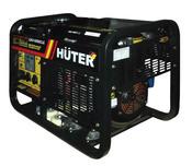 Электрогенератор HUTER LDG14000CLE- однофазный, электростартер, АКБ (64/2/5.)