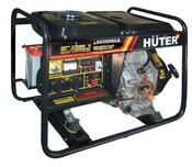 Электрогенератор HUTER LDG5000CLE электростартер, АКБ (64/2/3.)