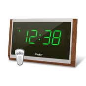 Спектр СК 2502 С-З Электронные сетевые настольные/настенные часы