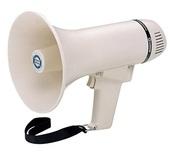 SHOW ER226 - Мегафон ручной 8 Вт, вес 0.6 Кг.,9В.,6 батарей AA, пластик