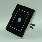 Сенсорный выключатель радиоуправляемый OneTouch (86RSB1) 1 клавишный черный