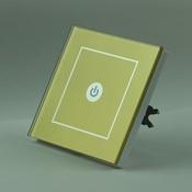 Сенсорный выключатель радиоуправляемый OneTouch (86RSG1) 1 клавишный золотой