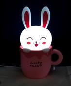 Настольная лампа-ночник «Счастливый кролик» EX-1101А