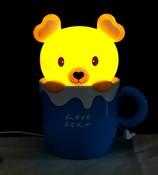 Настольная лампа-ночник «Медвежонок» EX-1101С