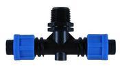 Фитинг TT0117 для садовых шлангов и систем полива капельной лентой
