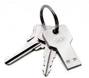 Флэшка в виде ключа LaCie PetiteKey (16GB USB 2.0)