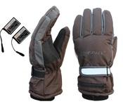 """Перчатки с подогревом (модель """"WarmSpace G0120C"""")  размер XL, цвет: кофейный"""