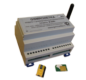 GSM контроллер на DIN-рейке, GSM-DIN