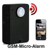 Автономная мини GSM сигнализация с ИК датчиком GSM-Micro-Alarm (A9)