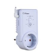 Умная GSM розетка с датчиком температуры iTimer II, 16A/220V