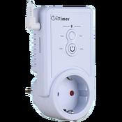 iTimer II PRO 16, GSM Умная розетка с датчиком температуры 16A/220V