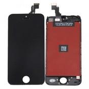 Дисплей Iphone 5C черный AAA