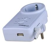iTimer II PRO 16, GPRS Умная розетка с датчиком температуры 16A/220V