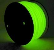 Пластик для 3D принтеров и 3D ручек Spider Pen Катушка ABS пластика СВЕТИТСЯ в темноте 750 грамм (около 300 метров) (ABS1F)