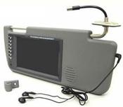 Автомобильный козырек c ТВ тюнером KINDIN 701R