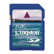 Карта памяти Kingston SD02Gb, SecureDigital Card 2 Gb