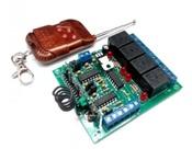 MP326M Комплект 4-х канального дистанционного управления 433 МГц с 4-мя реле до 2 кВт (10А)
