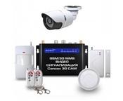 GSM видео сигнализация Sapsan GSM MMS 3G CAM с 1 уличной в/камерой, контролем отопления, для гаража, дома и дачи