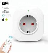 Умная Wi-Fi розетка, 10A, IOS/ Android, Tuya KS-501