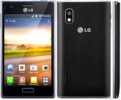 Смартфон LG Optimus L5 E610 black