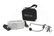 Terrasound M-117A Усилитель голоса мегафон поясной 7Вт (комплект: мегафон, вход AUX, сумочка, микрофон, зу)