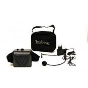 Terrasound M-161 Усилитель голоса мегафон поясной 10Вт (комплект: мегафон, встроенный Li аккумулятор, вход AUX, сумочка, микрофон, зу)