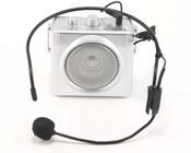 Terrasound M-163 Усилитель голоса мегафон поясной 10Вт (комплект: мегафон, встроенный Li аккумулятор, вход AUX, сумочка, микрофон, зу)