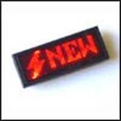 KIT MA1238R Электронный бейджик 12 X 38 красного свечения от Мастер Кит