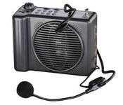 Terrasound MG-220REC/blue ручной мегафон 25Вт, тангента, сирена, запись/воспроизведение 20 сек, разъем 12В