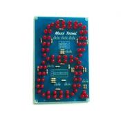 """KIT MP1005F Светодиодный семи-сегментный индикатор 5""""(127мм) от Мастер Кит"""