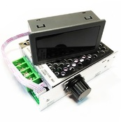 MP301M ШИМ регулятор мощности 12-80В / 30А в корпусе с радиатором