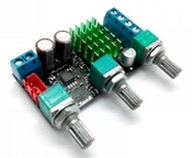 MP3116mini Усилитель НЧ D-класс 2х50Вт с регулировкой тембра (TPA3116)