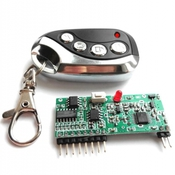 KIT MP324M Модуль 4-х канального дистанционного управления диапазона 433 МГц (4 канала) PRO