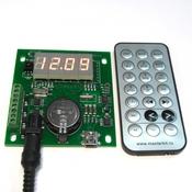 KIT MP350 Реле времени (4 канала)  - Универсальные часы реального времени (RTC) c управлением нагрузками по 4 каналам от Мастер Кит