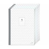 Блокнот N plain notebook для ручки Neo smartpen N2 (с чистыми листами) (комплект из 5 штук) (NDO-DN122)