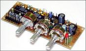 Активный блок обработки сигнала для сабвуферного канала МАСТЕРКИТ NM2117