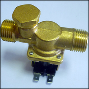 Электромагнитный водопроводный клапан МАСТЕРКИТ NT8078 DC12V.