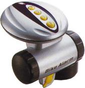 Вибродетектор с кодом и сиреной для охраны велосипеда. OB-072